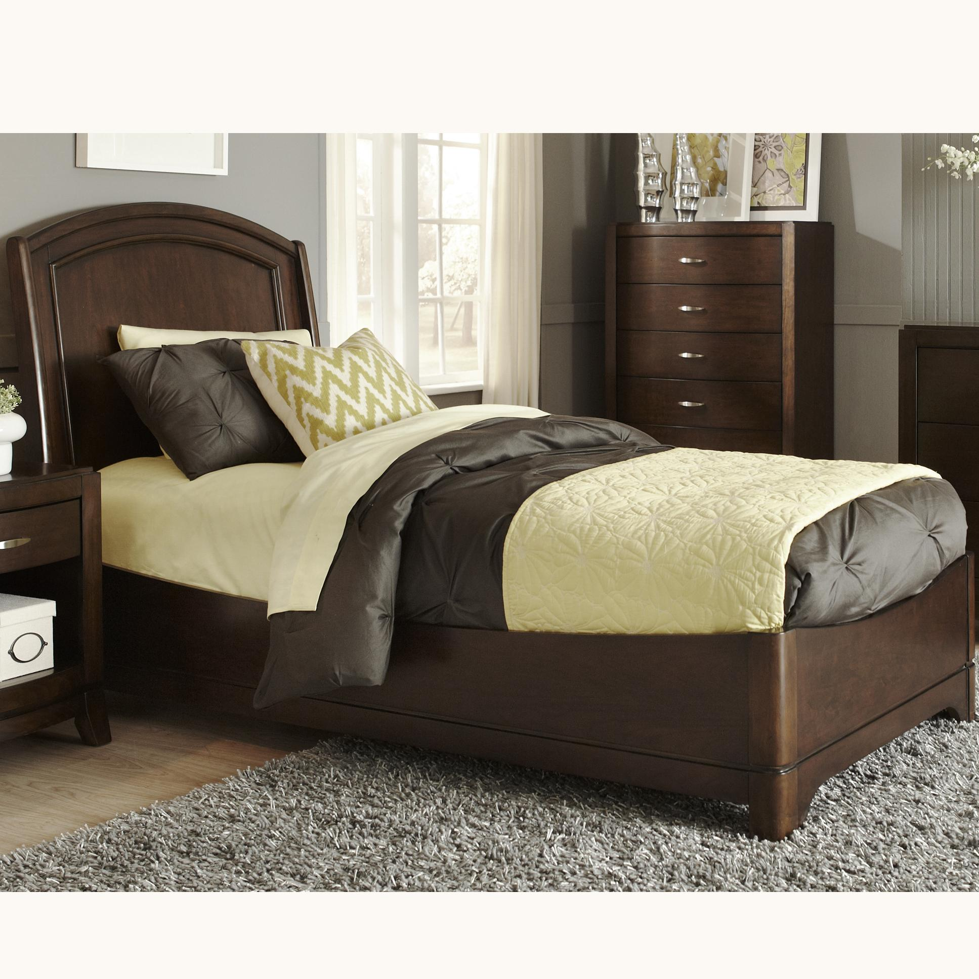 Liberty Furniture Avalon Full Platform Bed - Item Number: 505-YBR-FPL