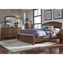Liberty Furniture Avalon III Queen Bedroom Group - Item Number: 705-BR-QPBSDMC