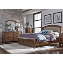 Liberty Furniture Avalon III Queen Bedroom Group - Item Number: 705-BR-QSBDMC