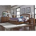 Liberty Furniture Avalon III Queen Bedroom Group - Item Number: 705-BR-QSBDMN