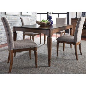 Liberty Furniture Avalon III Dining 5 Piece Table & Chair Set