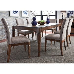 Liberty Furniture Avalon III Dining 7 Piece Table & Chair Set