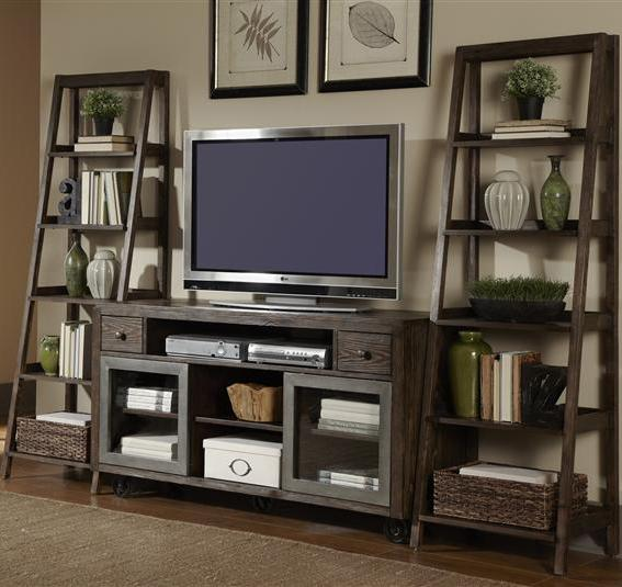 Liberty Furniture Avignon Entertainment Center with Piers Set - Item Number: 197-ENTW-ECP