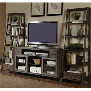 Liberty Furniture Avignon Entertainment Center with Piers Set