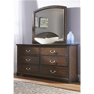 Liberty Furniture Avington Dresser & Mirror