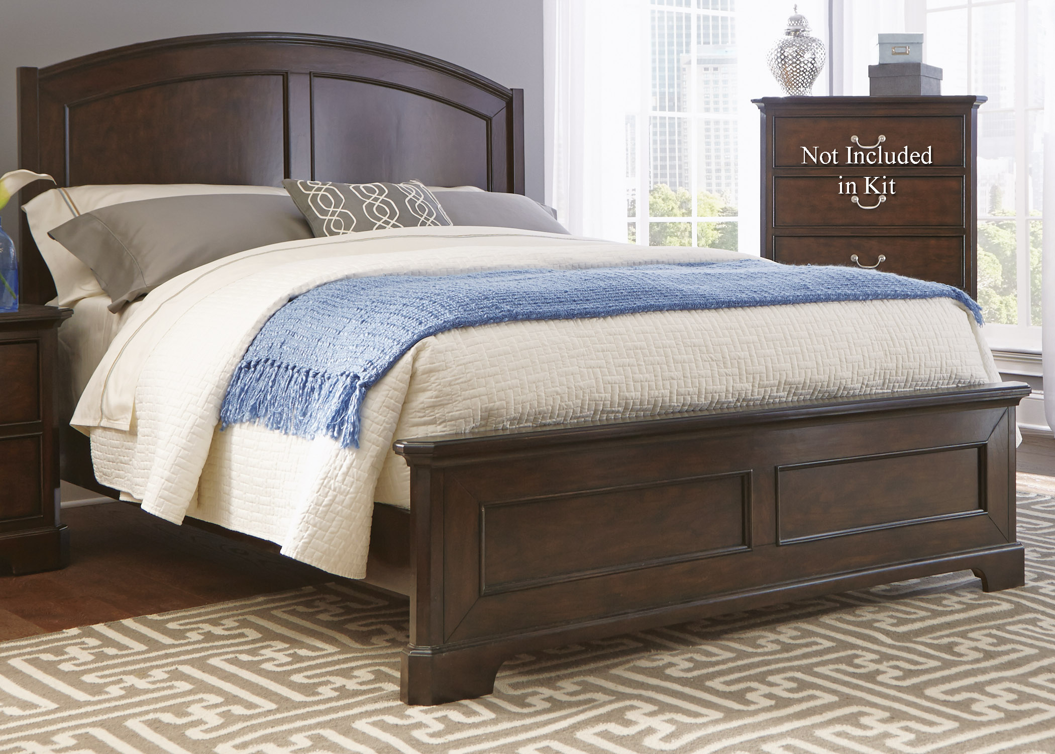 Liberty Furniture Avington Queen Panel Bed  - Item Number: 172-BR-QPB