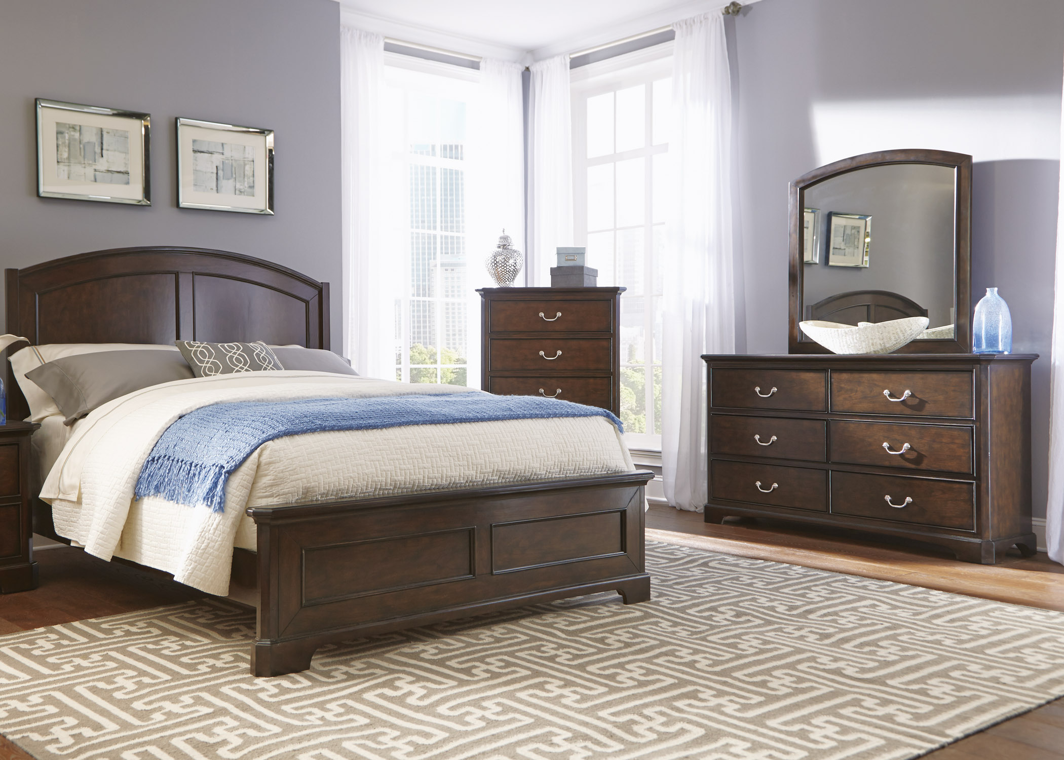 Liberty Furniture Avington Queen Bedroom Group - Item Number: 172-BR-QPBDMC