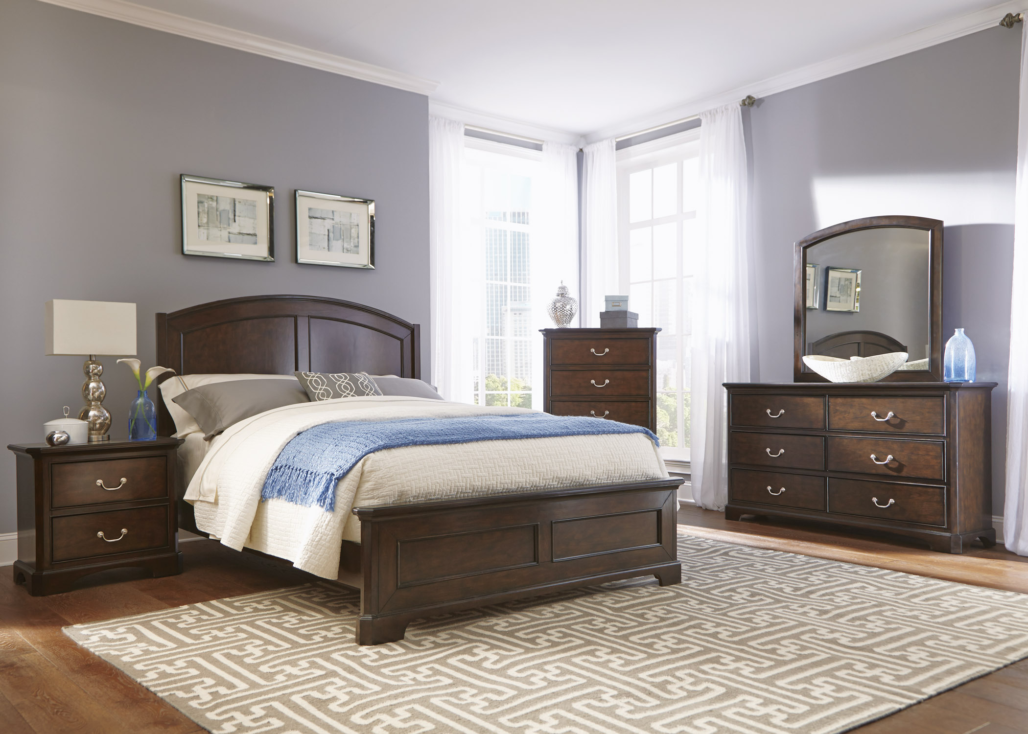 Liberty Furniture Avington Queen Bedroom Group - Item Number: 172-BR-QPBDMCN