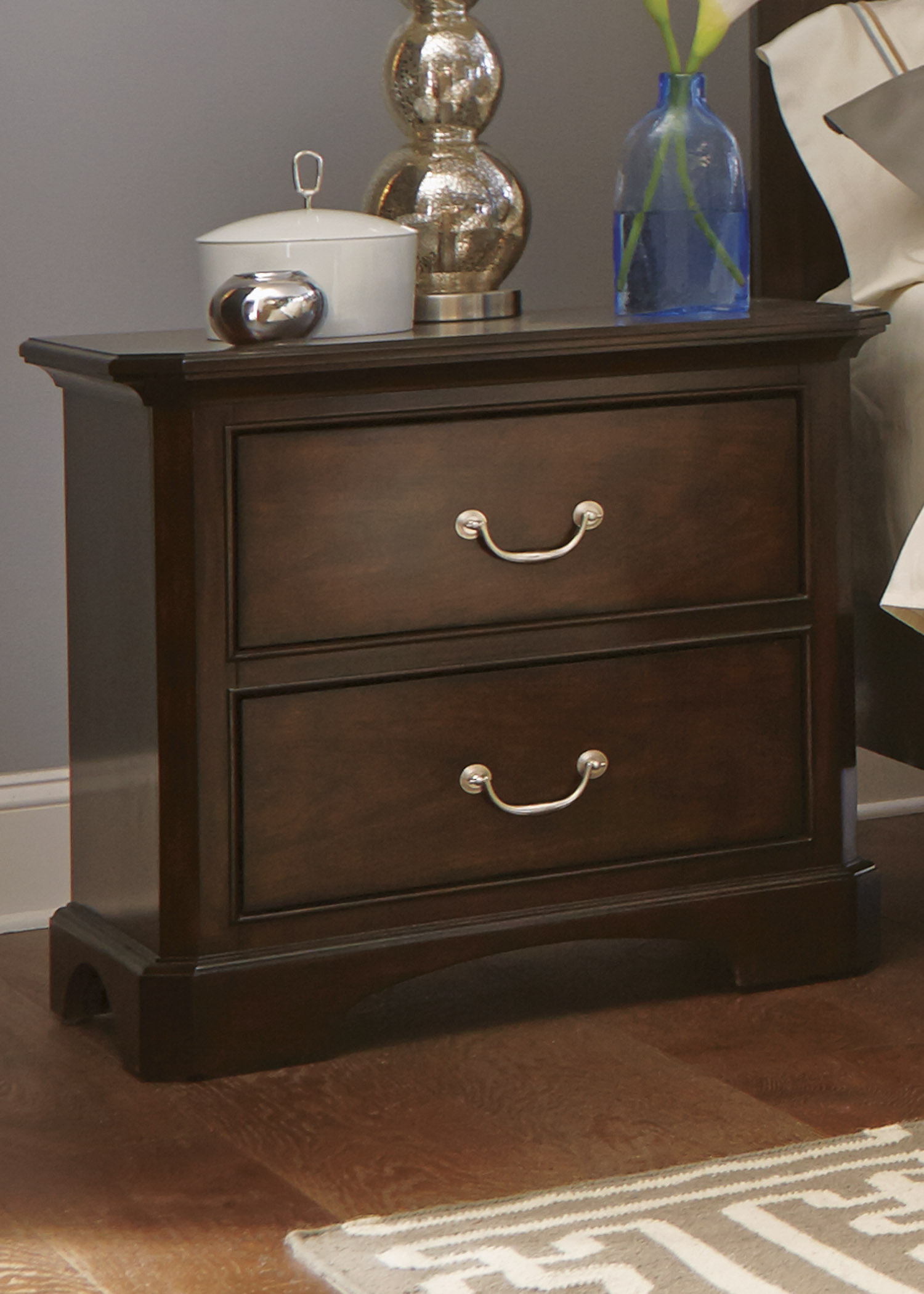 Liberty Furniture Avington 2-Drawer Night Stand - Item Number: 172-BR61