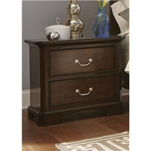 Liberty Furniture Avington 2-Drawer Night Stand