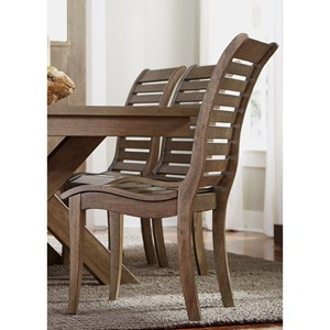 Liberty Furniture Bayside Slat Back Side Chair