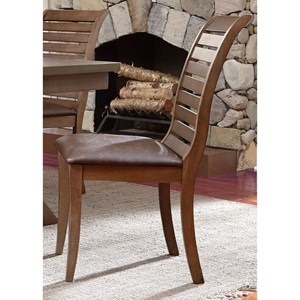 Liberty Furniture Bayside Upholstered Seat Side Chair