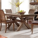 Liberty Furniture Bayside Trestle Dining Table - Item Number: 185-CD-TRS