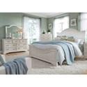 Liberty Furniture Bayside Bedroom King Bedroom Group  - Item Number: 249-BR-KPBDMC