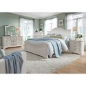 Liberty Furniture Bayside Bedroom Queen Bedroom Group - Item Number: 249-BR-QPBDMN