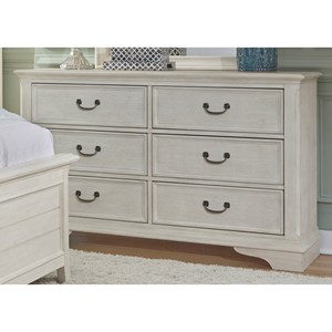 Liberty Furniture Bayside Bedroom 6 Drawer Dresser