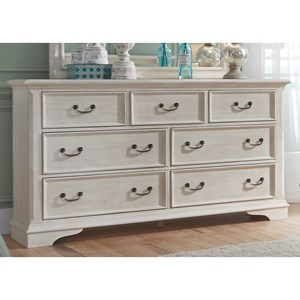 Liberty Furniture Bayside Bedroom 7 Drawer Dresser