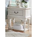 Liberty Furniture Bayside Bedroom Leg Night Stand - Item Number: 249-BR62