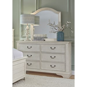 Liberty Furniture Bayside Bedroom Dresser & Mirror