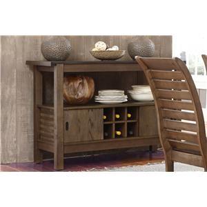 Liberty Furniture Bayside Crossing Chestnut Server