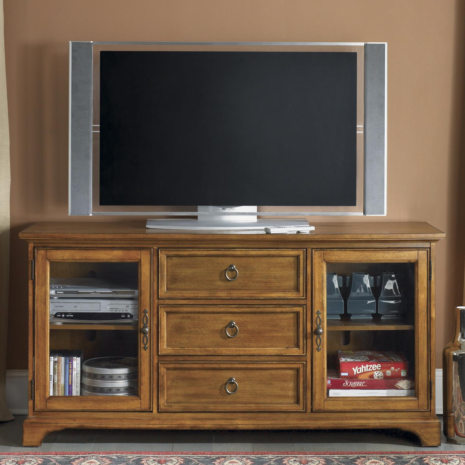 "Liberty Furniture Beacon 64"" TV Console - Item Number: 451-TV64"