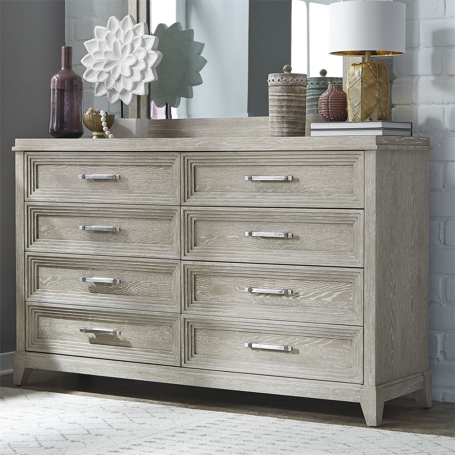 Belmar 8-Drawer Dresser by Liberty Furniture at Zak's Home