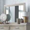 Liberty Furniture Belmar Landscape Mirror - Item Number: 902-BR52