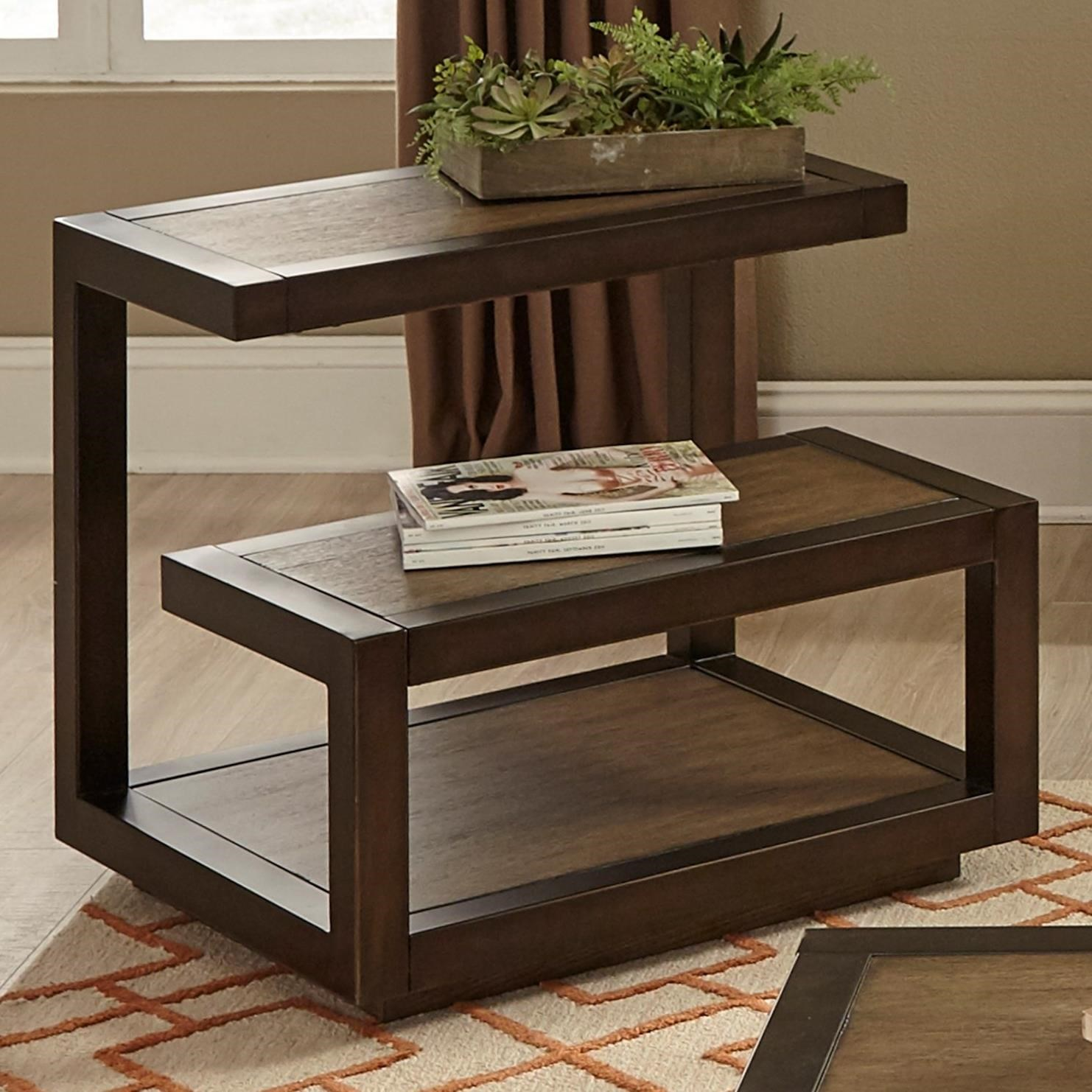 Liberty Furniture Bennett Point Mid-Century Modern End Table - Item Number: 463-OT1020