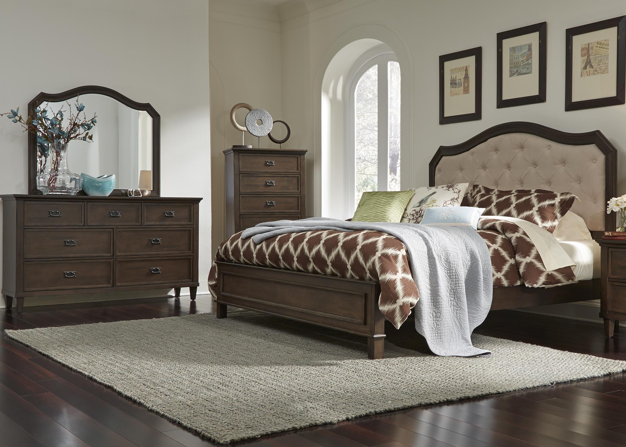 Liberty Furniture Berkley Heights King Bedroom Group - Item Number: 102 K Bedroom Group 2