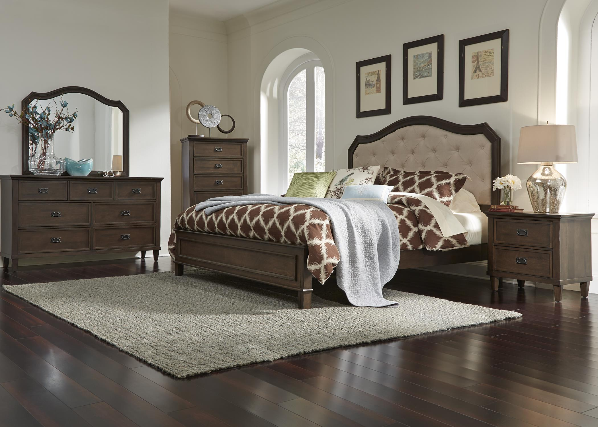 Liberty Furniture Berkley Heights King Bedroom Group - Item Number: 102 K Bedroom Group 1