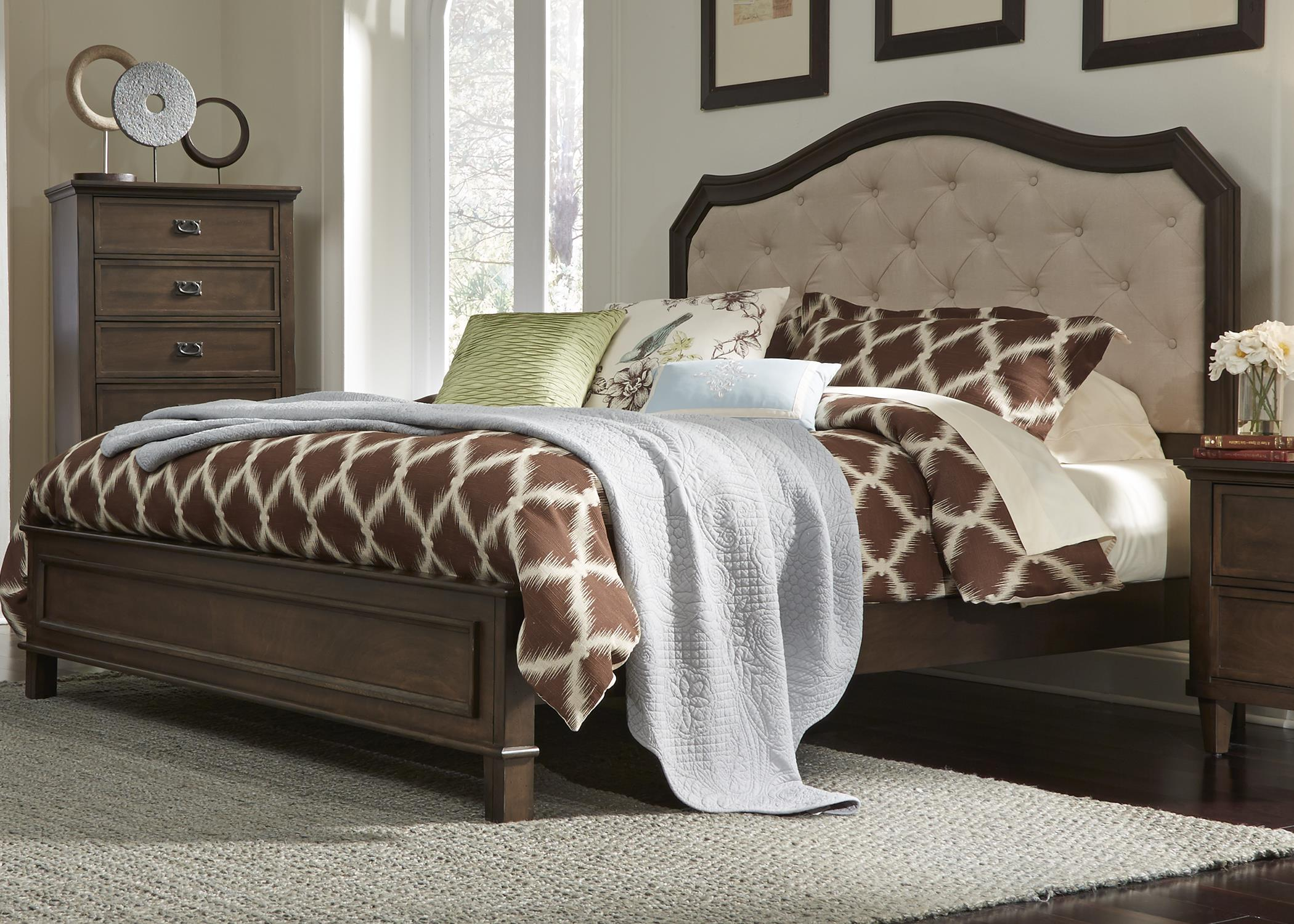 Liberty Furniture Berkley Heights Queen Panel Bed - Item Number: 102-BR-QPB