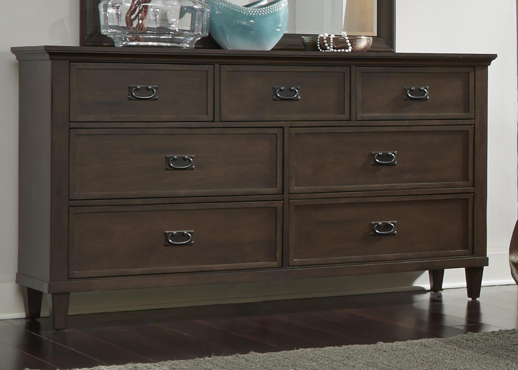 Liberty Furniture Berkley Heights 7 Drawer Dresser - Item Number: 102-BR31