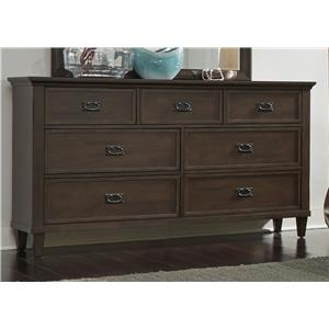 Vendor 5349 Berkley Heights 7 Drawer Dresser