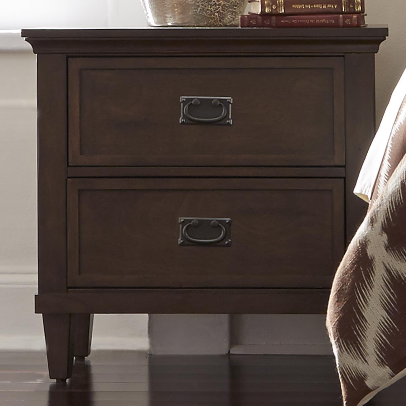 Liberty Furniture Berkley Heights 2 Drawer Nightstand - Item Number: 102-BR61