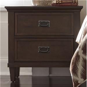 Liberty Furniture Berkley Heights 2 Drawer Nightstand