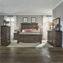 Liberty Furniture Big Valley Queen Bedroom Group - Item Number: 361-BR-QPBDMCN