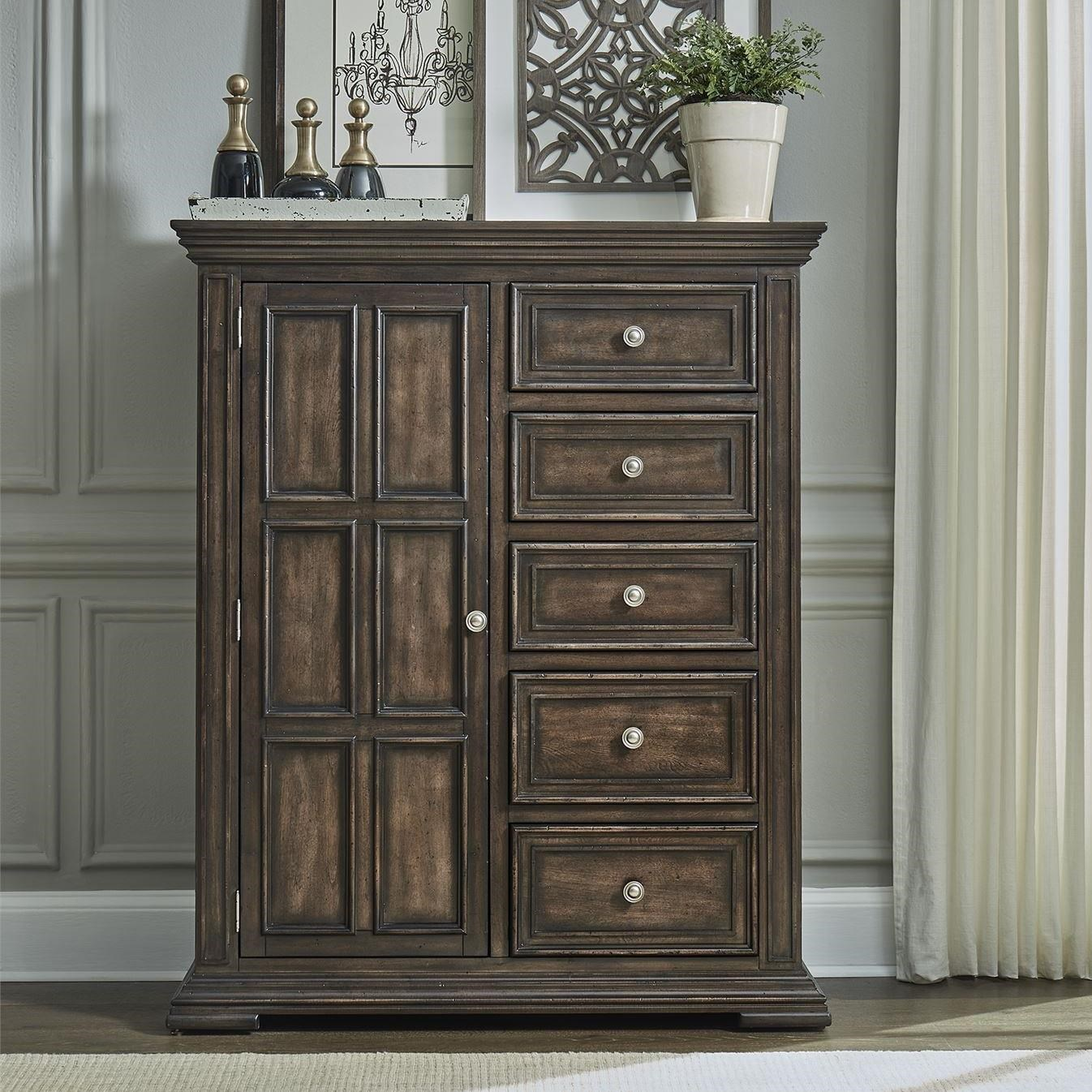 Big Valley Door Chest by Liberty Furniture at Zak's Home