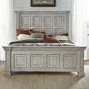 Liberty Furniture Big Valley Queen Panel Bed - Item Number: 361W-BR-QPB