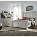 Liberty Furniture Big Valley King Bedroom Group - Item Number: 361W-BR-KPBDM