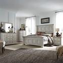 Liberty Furniture Big Valley Queen Bedroom Group - Item Number: 361W-BR-QPBDMCN