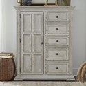 Liberty Furniture Big Valley Door Chest - Item Number: 361W-BR42