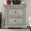 Liberty Furniture Big Valley 2-Drawer Night Stand with Charging Station - Item Number: 361W-BR61