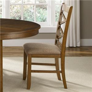 Vendor 5349 Bistro Double X-Back Side Chair