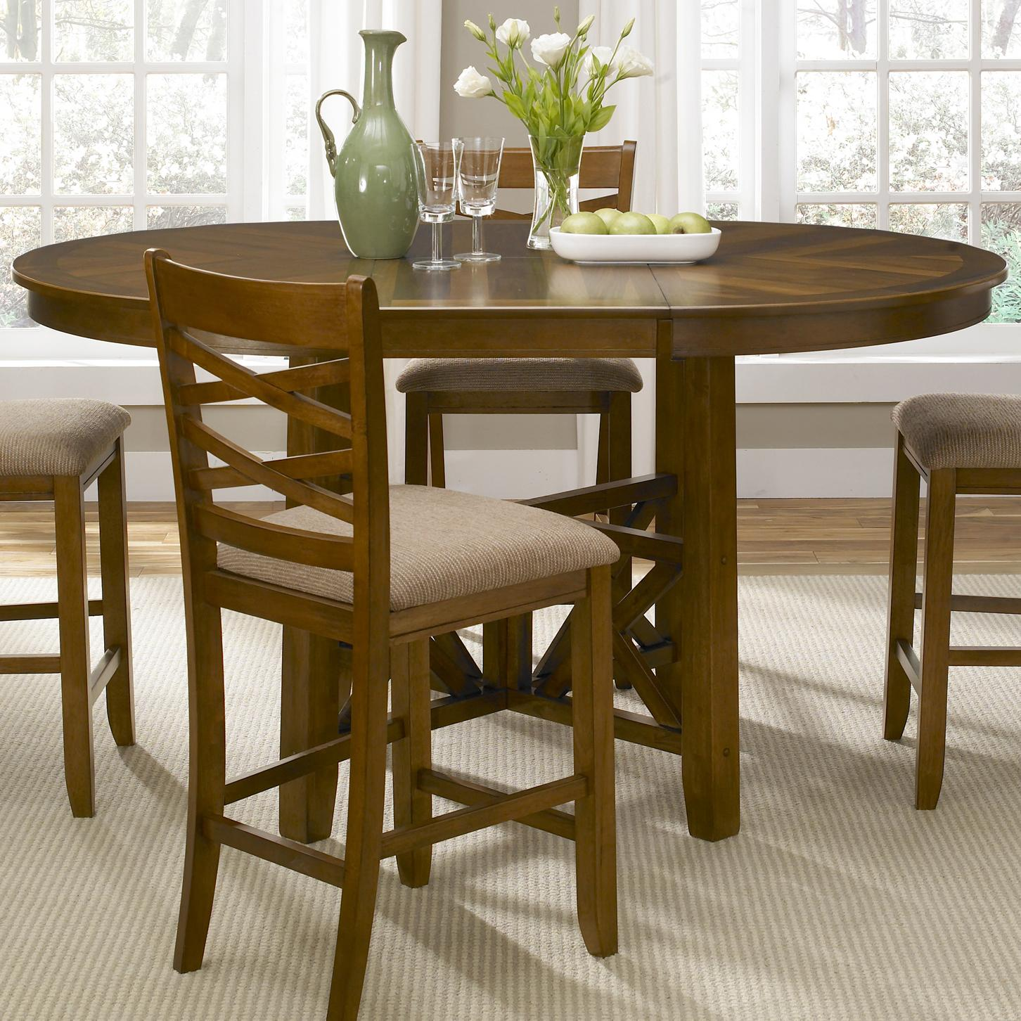 Liberty Furniture Applewood Gathering Height Table - Item Number: 64-GT-4866B+GT4866