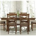 Liberty Furniture Applewood Trestle Table - Item Number: 64-P4090+T4090