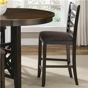 Liberty Furniture Bistro II Double X-Back Counter Height Chair