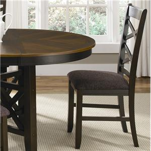 Liberty Furniture Bistro II Double X-Back Side Chair