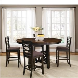 5 Piece Gathering Height Dining Set