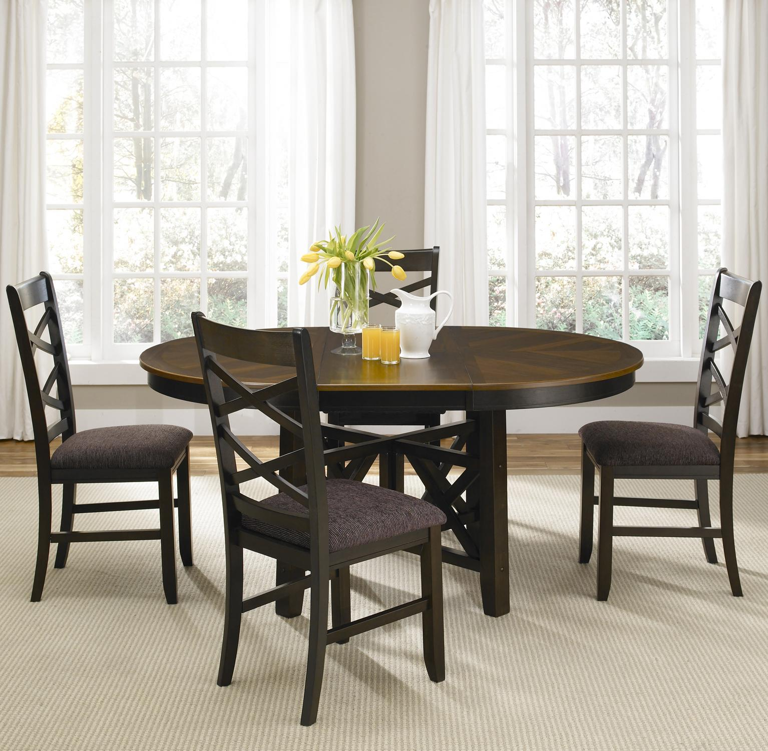 Liberty Furniture Colby 5 Piece Dining Table and Chair Set - Item Number: 74-CD-SET16