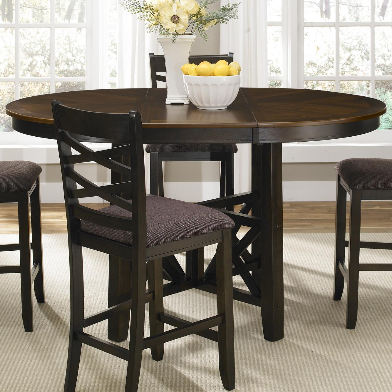 Liberty Furniture Bistro II Gathering Height Table - Item Number: 74-GT-4866B+GT4866